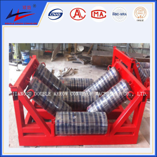 Transistion Carrier Roller Idlers for Conveyor System pictures & photos