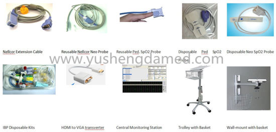 12.1 Inch Hot Sale Ce Certified Medical Machine Patient Monitor pictures & photos
