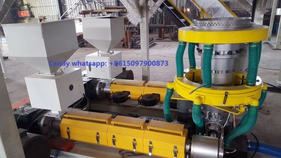 High Output PE ABA Three Layers Co-Extrusion Film Blown Machine pictures & photos