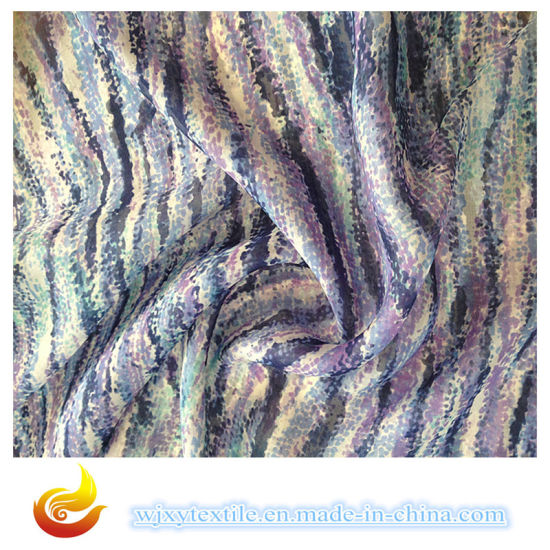 Wholesale Free Sample 100% Silk Dyed Plain French Chiffon Fabric (XY-S20150012S) pictures & photos