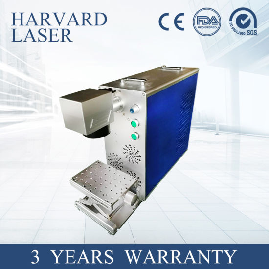 Motorized Portable 20W/30wcnc Fiber Laser Marking Machine for Metal and Nonmetal/Metal Sheet/Stainless Steel with ISO/Ce