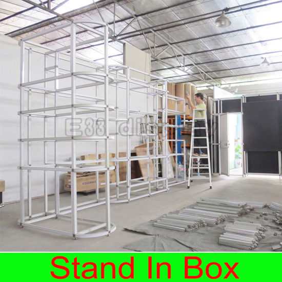 China Custom Aluminum Structure Pvc Exhibition Booth China
