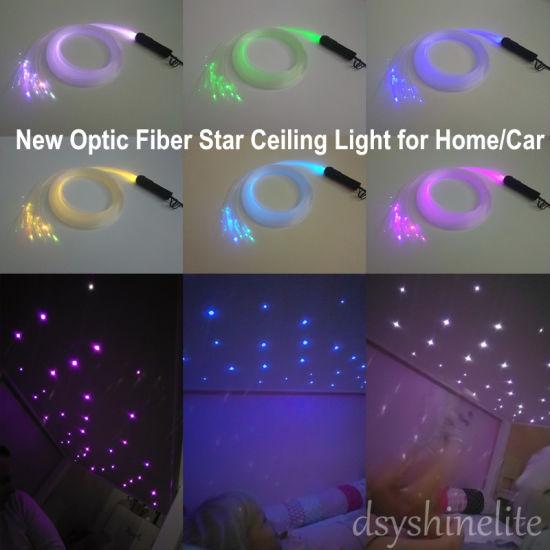 Optic Fiber Light Stars Ceiling Lamp