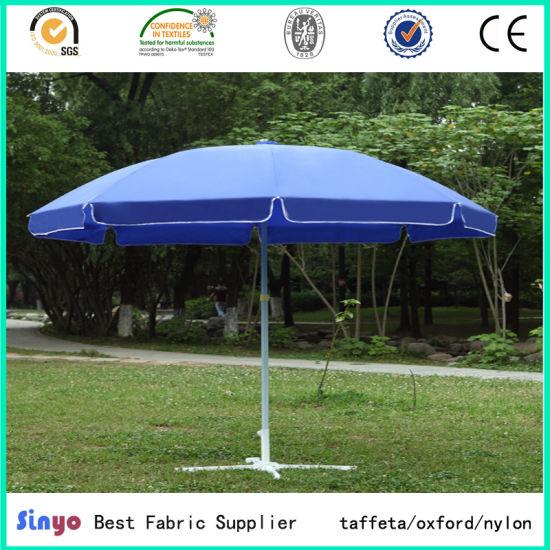 Pu Coated Polyester 300d Sun Umbrella