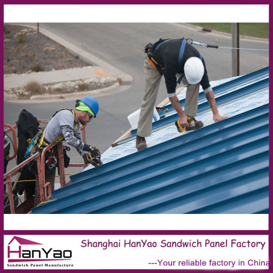 China Lightweight Roofing Panel Color Coated Steel Roof Tile