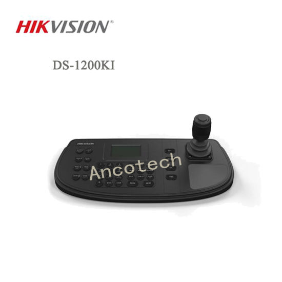 Hikvision 4-Axis Joystick LCD Screen Network Keyboard (DS-1200KI)