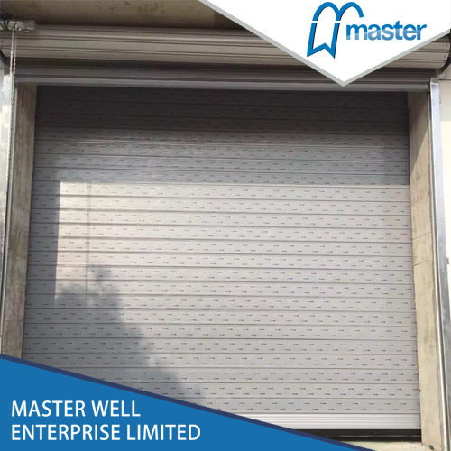 China Soft Pvc Screen Automatic High Speed Industrial Rolling Door