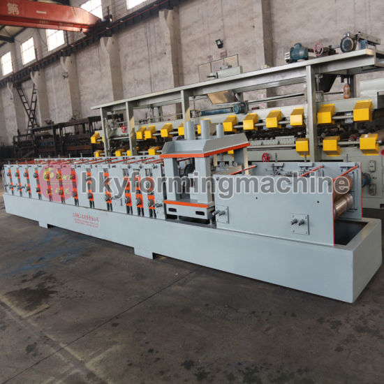 Web Size Adjustable C Purlin Cold Roll Forming Machine