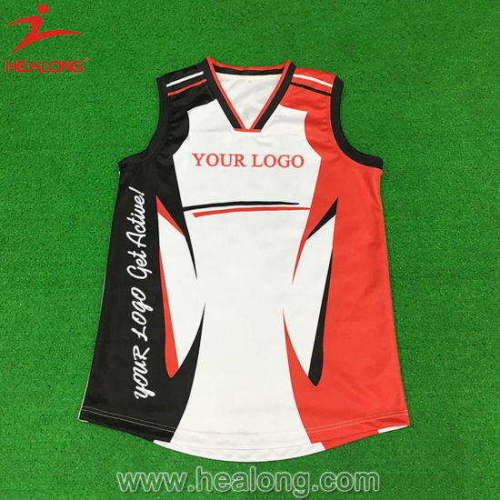 eb5c44773f1 Healong Customize Digital Print Heat Transferred Afl Jersey pictures    photos