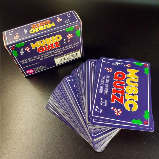 China Music Quiz Cards 101 Quiz Questions On Music Trivia