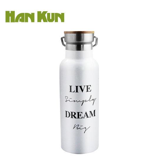 Hankun 18/8 Double Wall Stainless Steel Sport Bottle