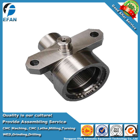 No-Standard Complex Stainless Steel Machine Spare CNC Milling Machining Part