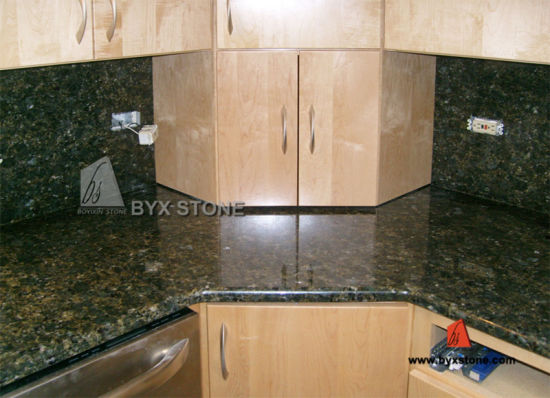 China Natural Granite Uba Tuba Countertop For Kitchen And Bathroom