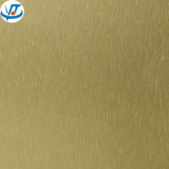 1060 1050 Hl Gold Aluminium Sheet Price and Size Aluminium Sheet Price Per Kg
