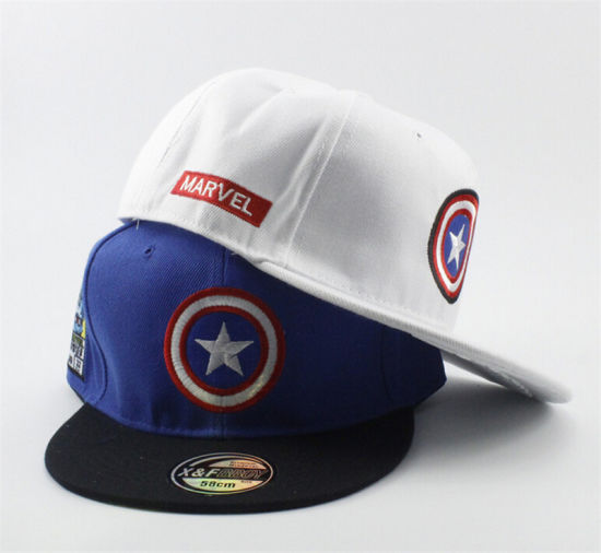 022a12517 Captain America Stylish Hat Embroidered Baseball Caps pictures & photos