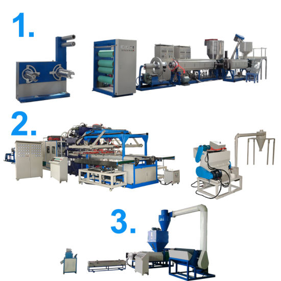 Best-Selling Disposable EPS Foam Fast Food Box Making Machine