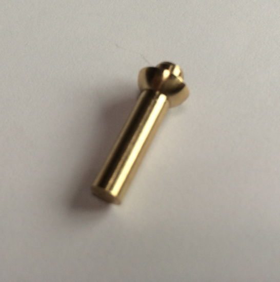 Professional CNC Turning Copper&Brass Parts Electronic Small Accessories Processing pictures & photos