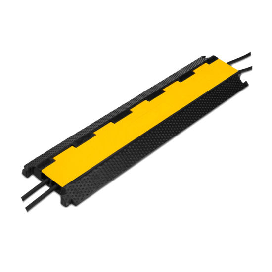 Factory Directly Sale Two Channel Rubber Cable Ramp pictures & photos