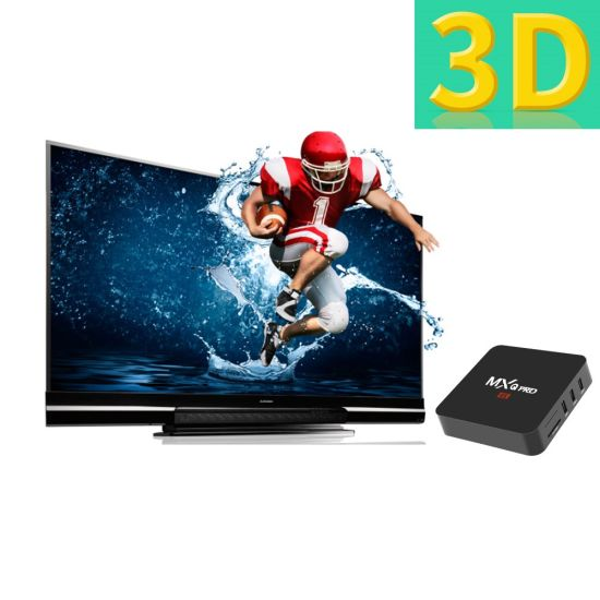China Android TV Box with 7 1  OS Amlogics905W 1GB RAM/8 GB