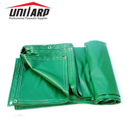 550GSM 1000d Matte PVC Coated Tarpaulin Cover Sheet with Welding Edge
