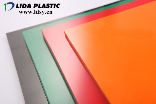 China High Quality Clear and Colorful PVC Sheet