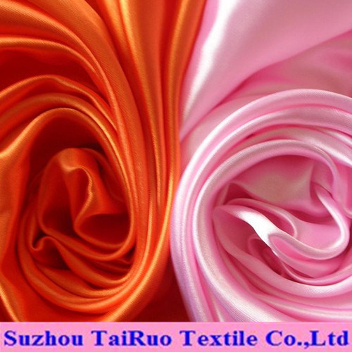 Polyester Twisted Satin for Garment Fabric pictures & photos