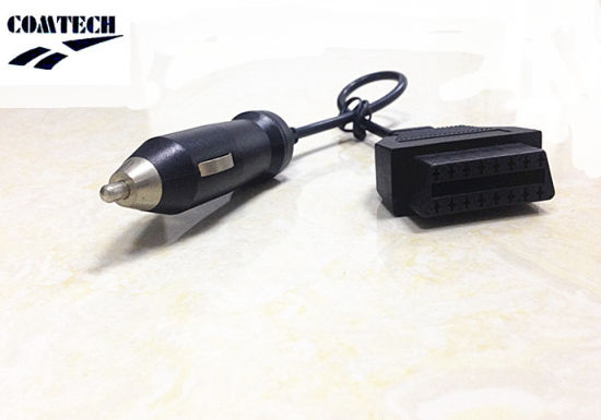 Obdii 16p F+Cigar Lighter M Cable pictures & photos