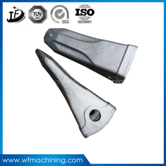 High Quality Round Steel Forging Bucket Teeth with Customized Service pictures & photos
