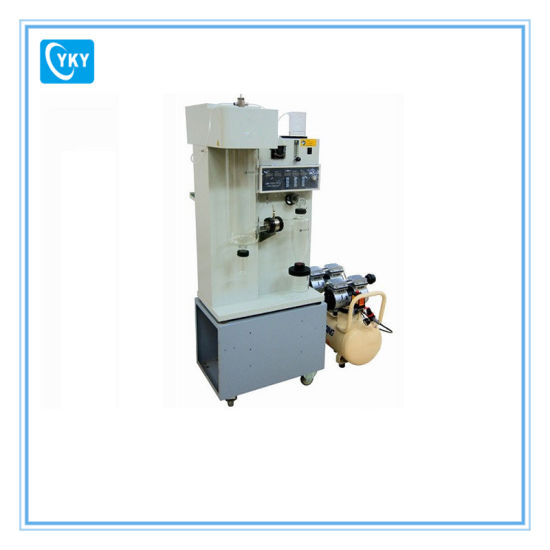 Laboratory Spray Dryer with Build-in Air Compressor, Peristaltic Pump