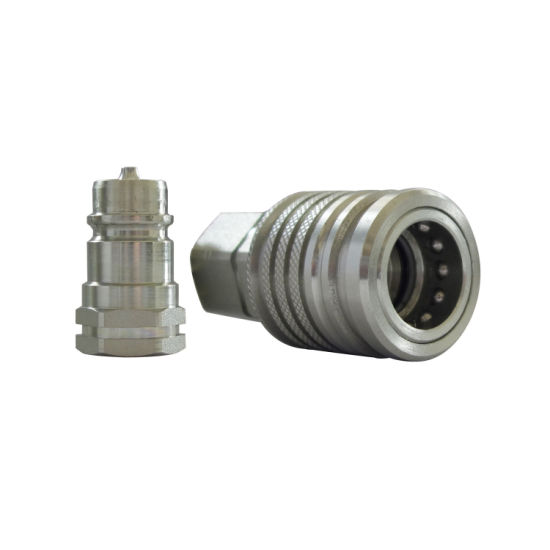 1/2 Bsp Hydraulic Hose Pipe Couplers Quick Disconnects Coupling