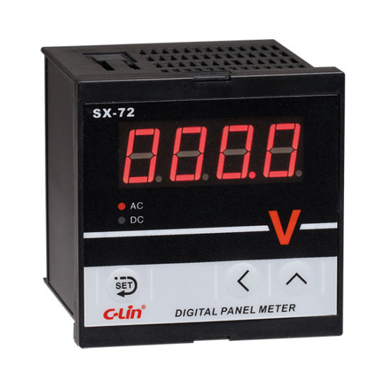 Digital Current/Voltage/Frequency Measuring Meter Sx-72 Series