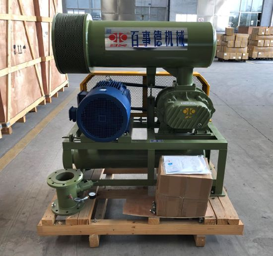 Sewage Treatment Three Lobe Roots Blower Bk7006 (18.5KW) for Aeration, Backwashing. pictures & photos