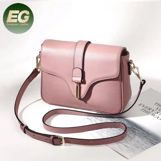 f5427fdeef01 New Trendy Genuine Leather Handbags Elegent Shopping Shoulder Bags Emg5518  pictures   photos