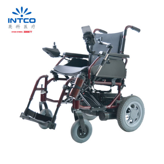 Hot Sell Electric Wheelchair with Motor Controller and Battery pictures & photos