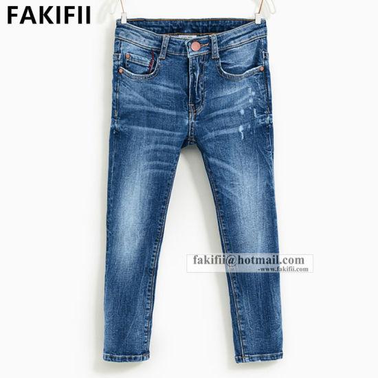 Premium Quality New Design Wholesale Fashion Kid Apparel Denim Child Boys Jeans