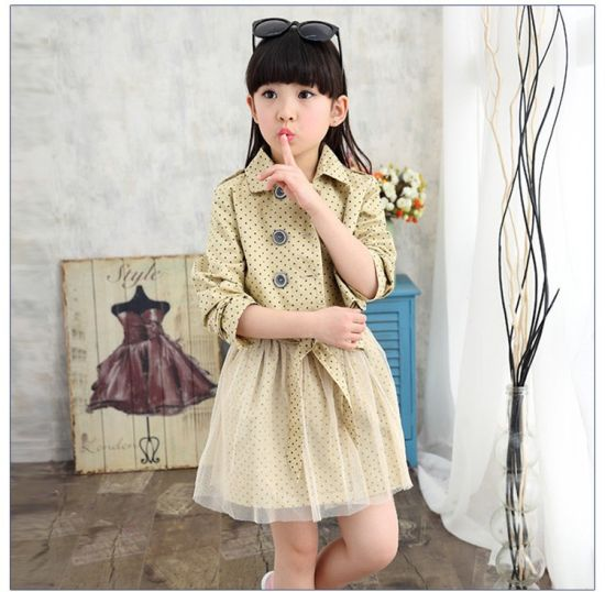 Wholesale Children Clothes Tulle Fabric Kids Party Girls Dresses