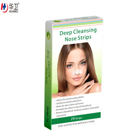 China Nose Cleaner, Charcoal Blackheads Removal Strip - China Nose