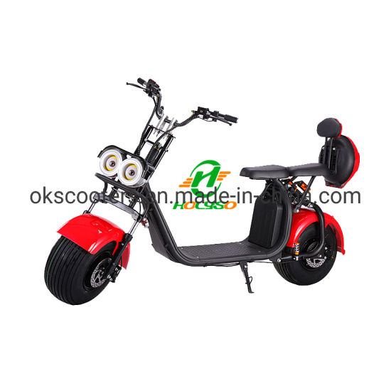 Coc EEC Removable Battery Scooter EEC Electric Scooters 1500 Watts