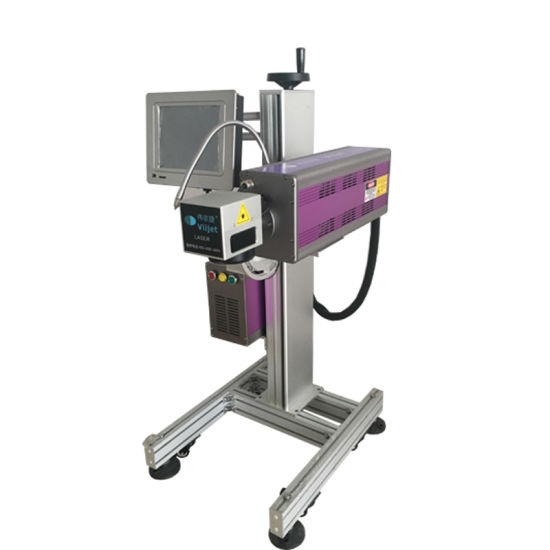 Factory Price Laser Machine CO2 Laser Marking/Engraving/Printing Machine for Glass Bottle Wine Bottle