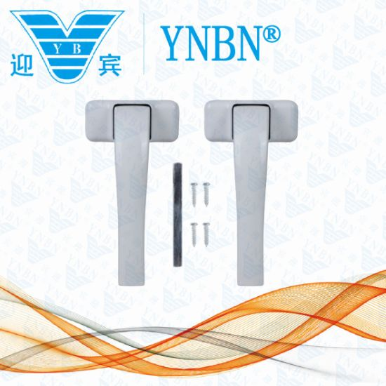 Yb-09 a Pair of Handle with Square Spindle Suit to Aluminum Door and Window From Yingbin pictures & photos