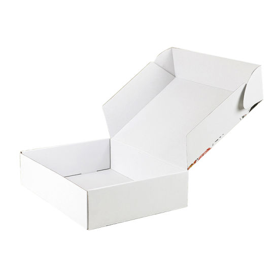 White Corrugated Color Printing Custom Logo Shipping Box pictures & photos