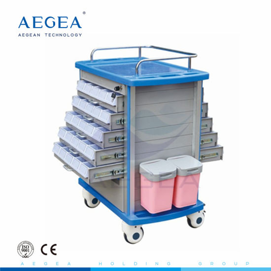 AG-Mt011A1 Medical Hospital Trolley ABS Medicine Trolley