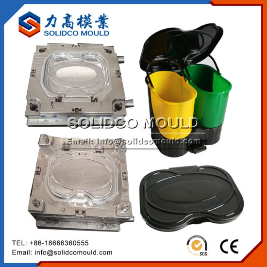 New Products Plastic Dustbin Trash Can Mould
