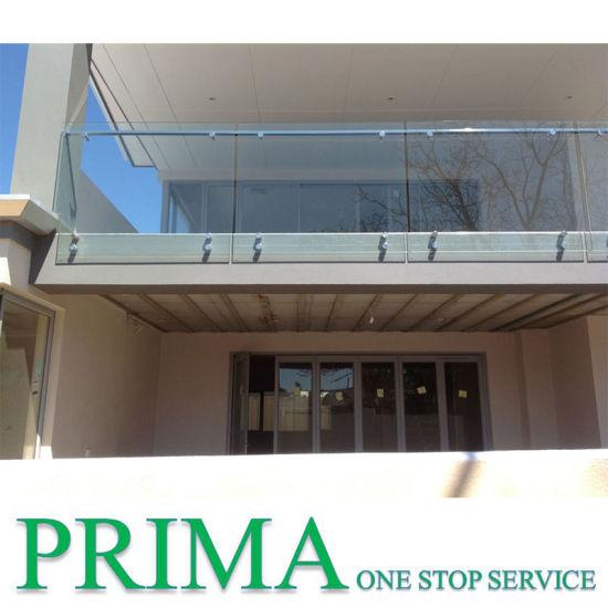 Adjustable Glass Railing Polish Stainless Standoff for Railing
