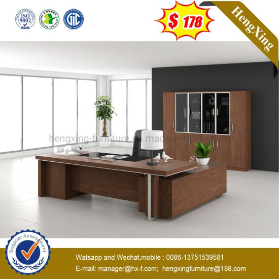 Traditional L Shape Executive Desk Modern Office Furniture pictures & photos