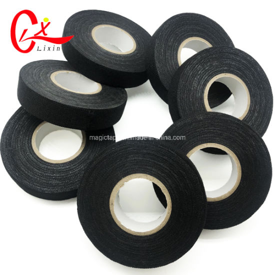 Awe Inspiring China Fabric Cotton Tape Loom Wiring Harness Cloth Tape Black Wiring 101 Akebwellnesstrialsorg