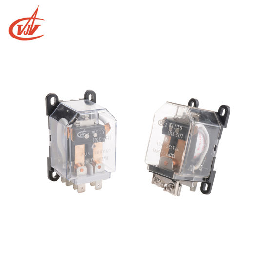 Stable 30A Good Price Miniature Electronic Relays with Transparency Case