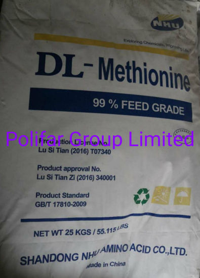 Dl-Methionine 99% Feed Raw Material pictures & photos