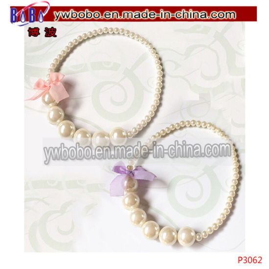 Wholesale Yiwu China Kid Jewelry Agent Baby Show Gift Flower Gift Pearl Jewelry Set (P1045) pictures & photos