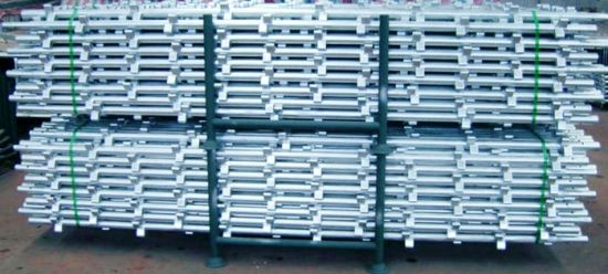 Standard/Verticals for Kwikstage Scaffolding Galvanized pictures & photos